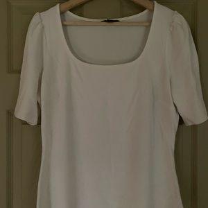 White RW&Co Short Sleeve